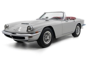 1968 Maserati Mistral 4000 Spider = 38k miles $748.5k       For Sale