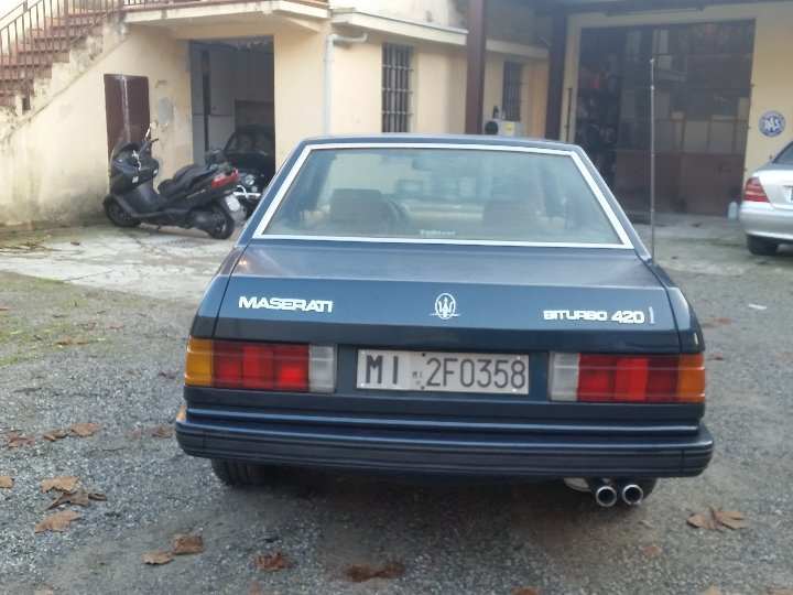 1987 conserved maserati 420 i For Sale (picture 2 of 6)