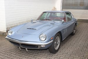 1964 Maserati Mistral 3.7: 13 Apr 2019 For Sale by Auction