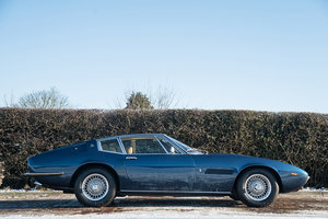 1970 Maserati Ghibli 4.7 L (AC and Power Steering) For Sale