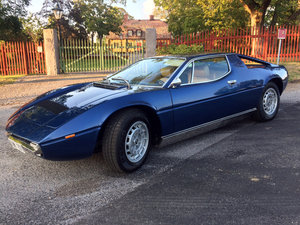 1977 Maserati Merak SS - totally restored For Sale