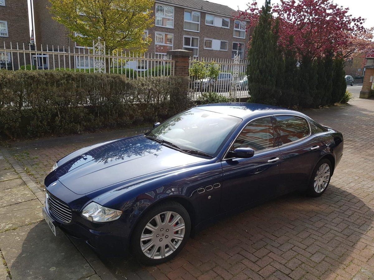 2005 Maserati Quattroporte - just serviced For Sale (picture 1 of 6)