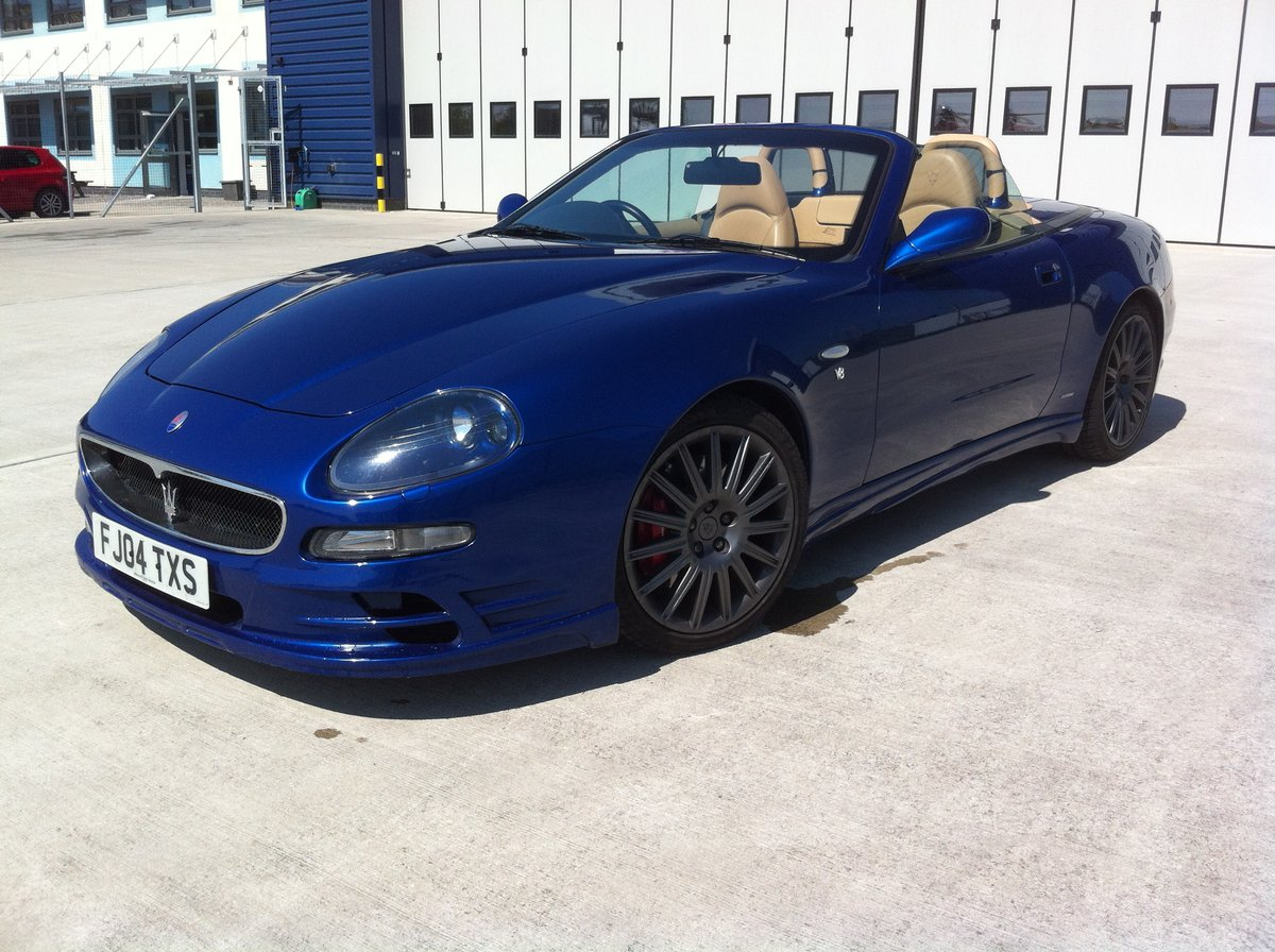 2004 Maserati 4200 Spyder SOLD | Car and Classic