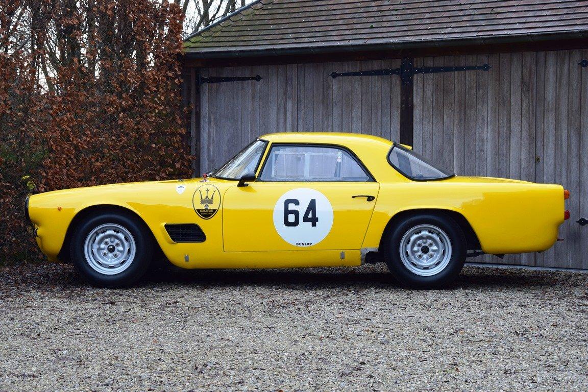1961 Maserati 3500 GT FIA Historic race car For Sale (picture 2 of 6)