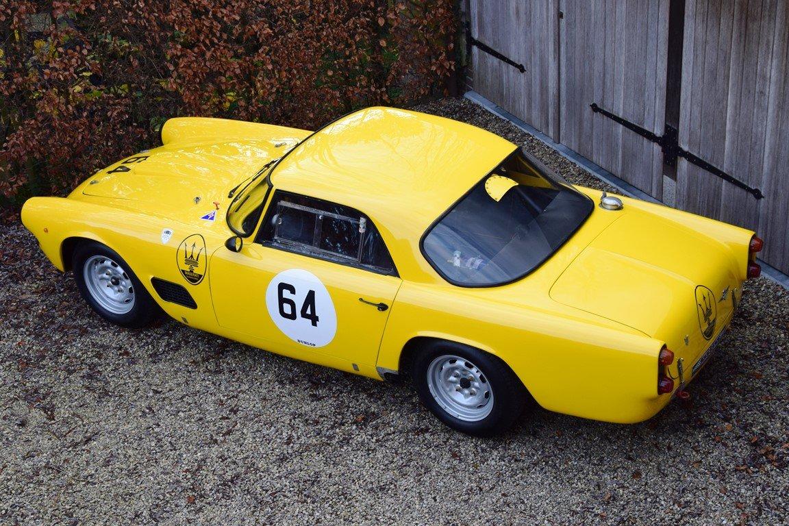 1961 Maserati 3500 GT FIA Historic race car For Sale (picture 3 of 6)