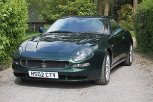 2002 Maserati 3200GT 19850 miles, 1 owner from 400 miles For Sale