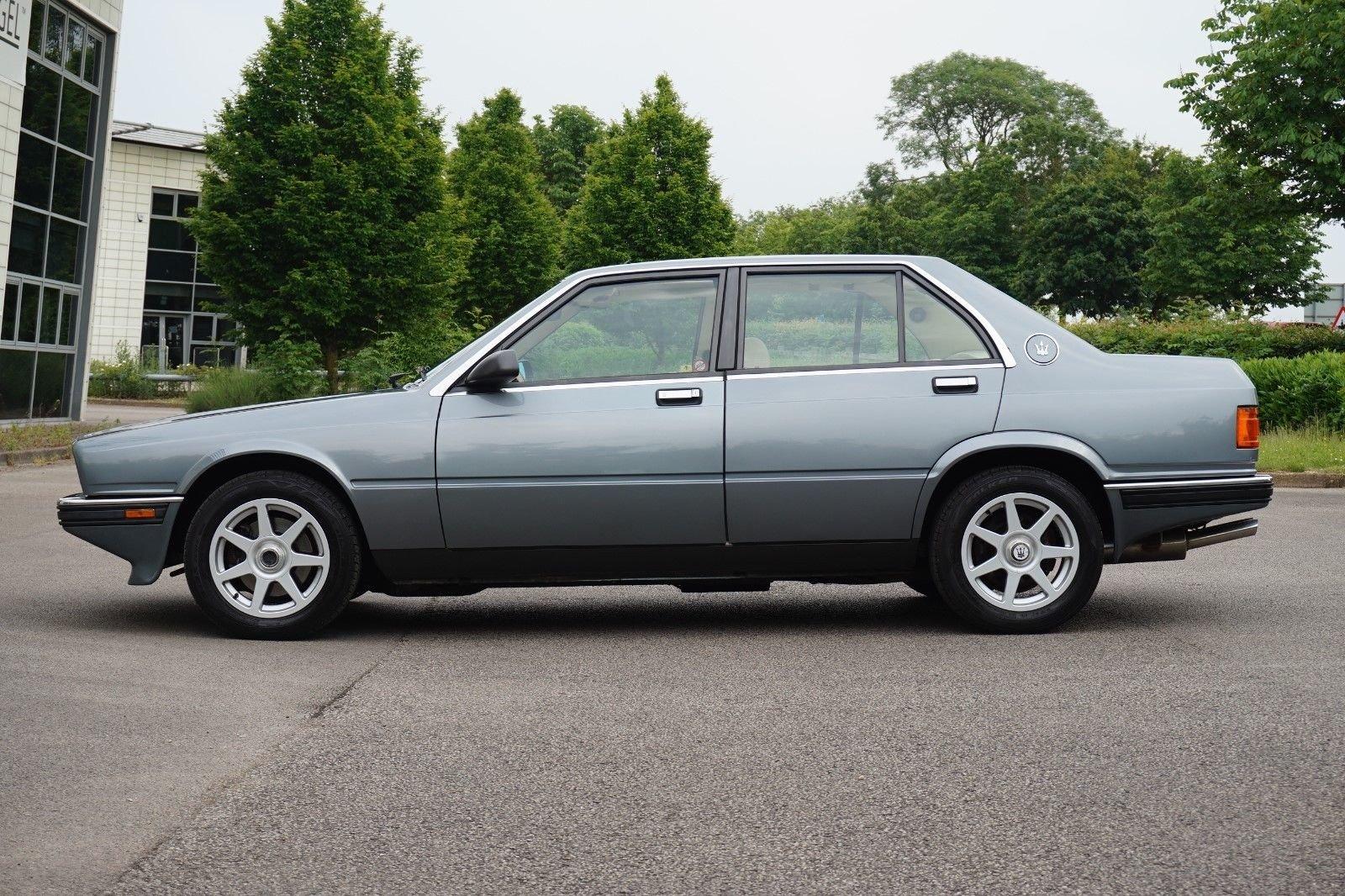 1989 Maserati biturbo 430 25300 miles RHD new MOT +Belt For Sale (picture 2 of 6)