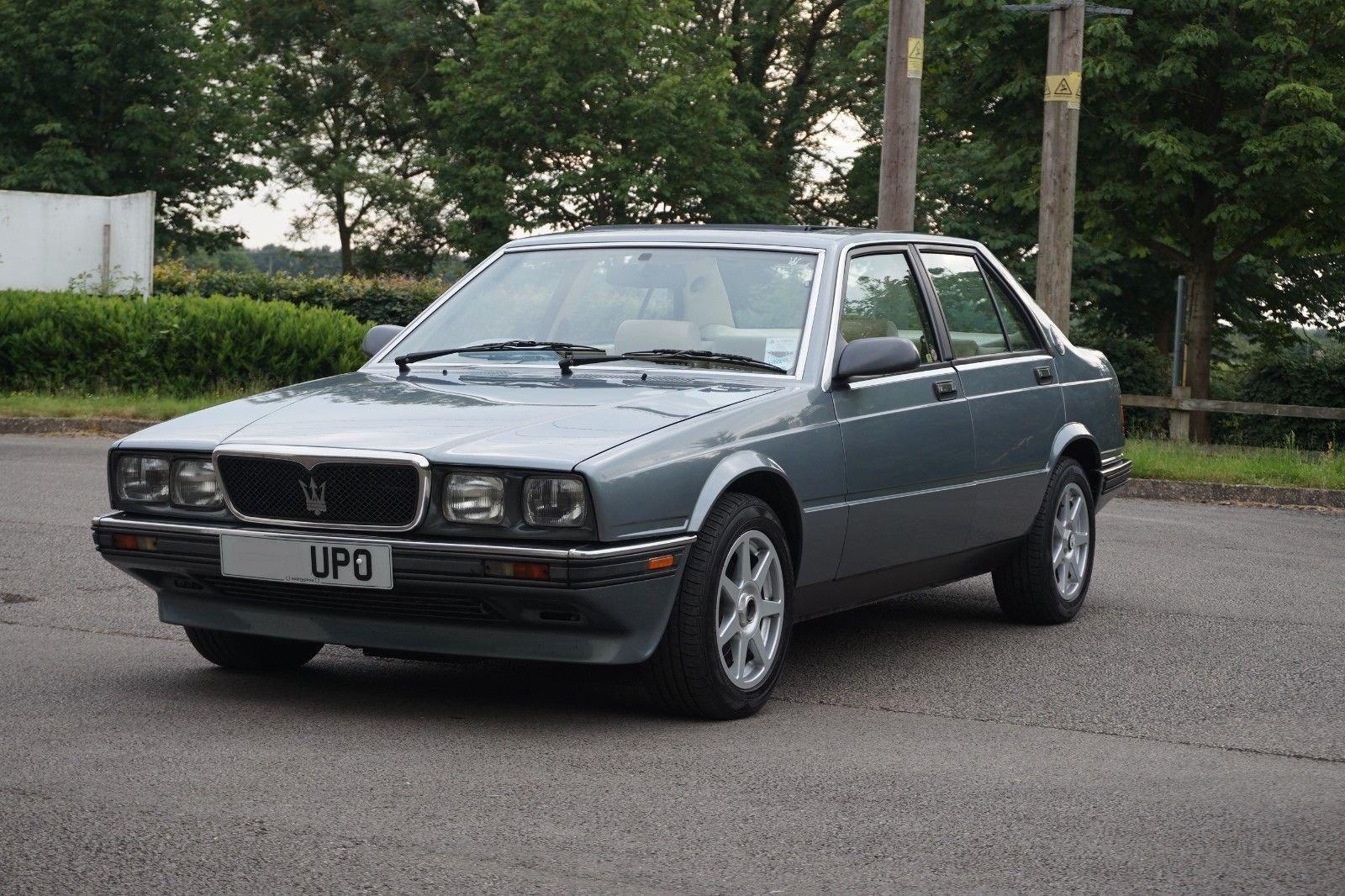1989 Maserati biturbo 430 25300 miles RHD new MOT +Belt For Sale (picture 1 of 6)