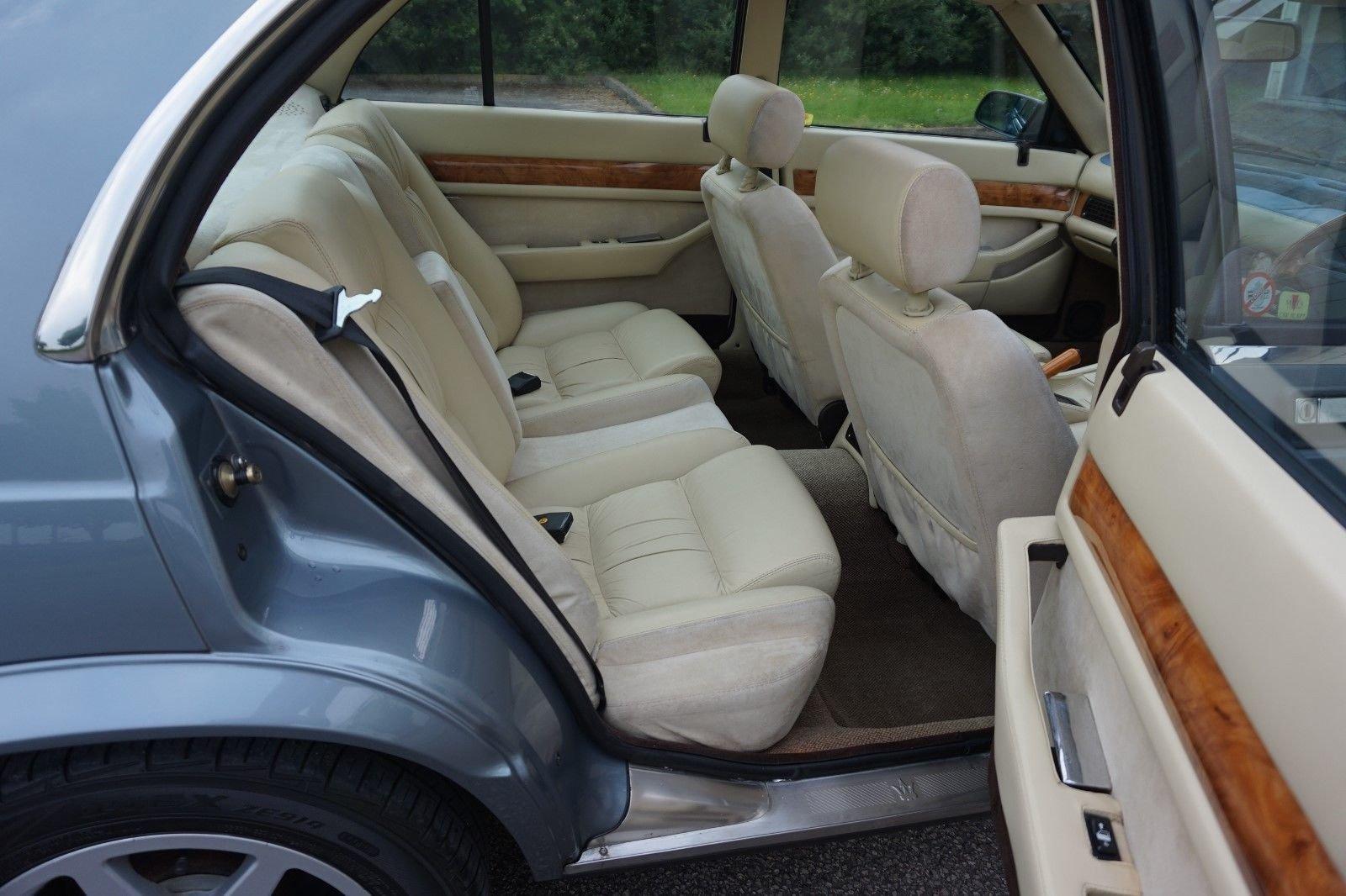 1989 Maserati biturbo 430 25300 miles RHD new MOT +Belt For Sale (picture 5 of 6)