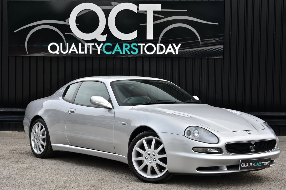 2001 Maserati 3200 GT *Just 33k Miles + Exceptional* For Sale (picture 1 of 6)