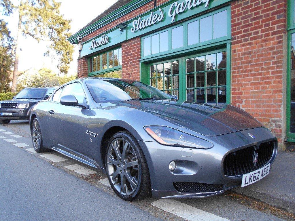 2012 Maserati Granturismo S Coupe Automatic SOLD (picture 2 of 4)