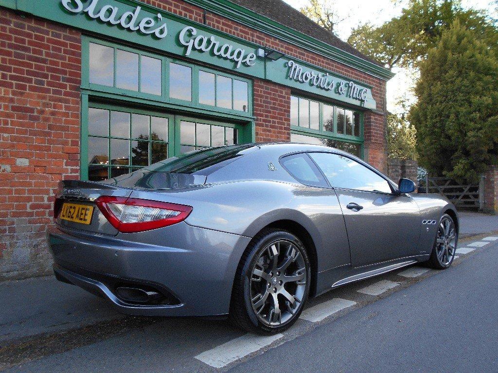 2012 Maserati Granturismo S Coupe Automatic SOLD (picture 3 of 4)