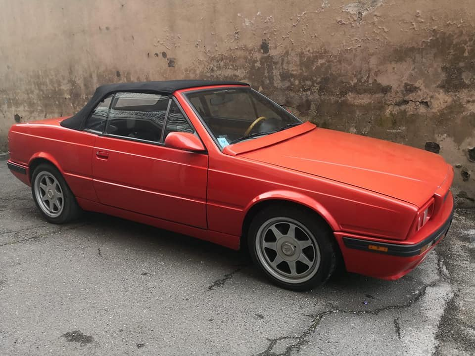 1993 maserati biturbo spider 24v, 1/200, one owner service book For Sale (picture 1 of 6)