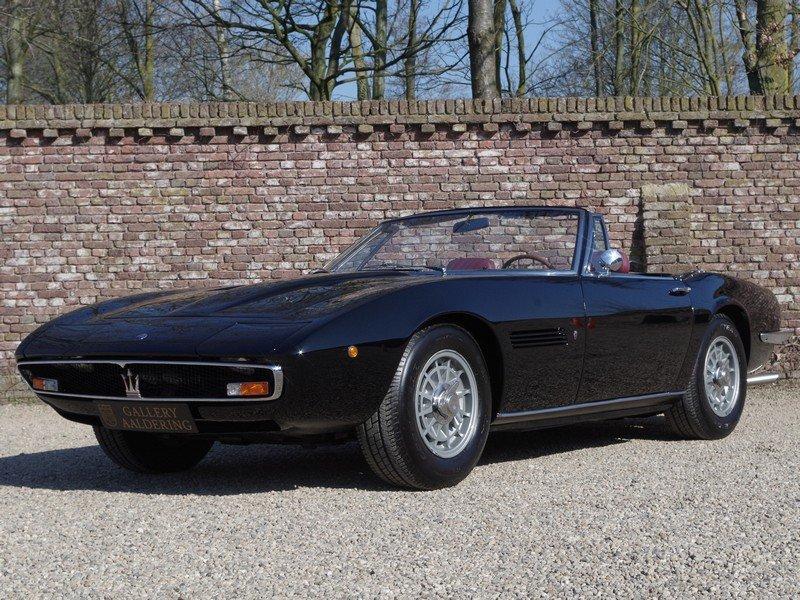 "1968 Maserati Ghibli 4.7 Spyder ""Campana"" For Sale (picture 1 of 6)"