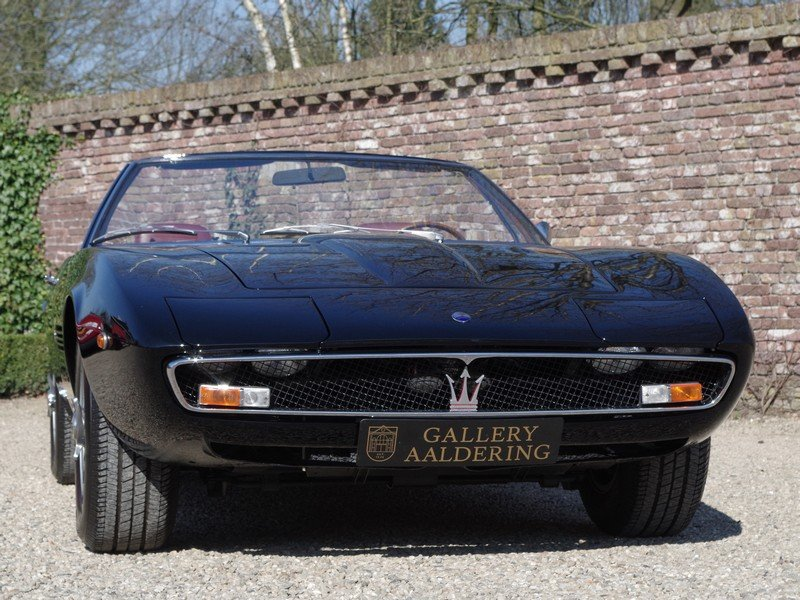 "1968 Maserati Ghibli 4.7 Spyder ""Campana"" For Sale (picture 5 of 6)"