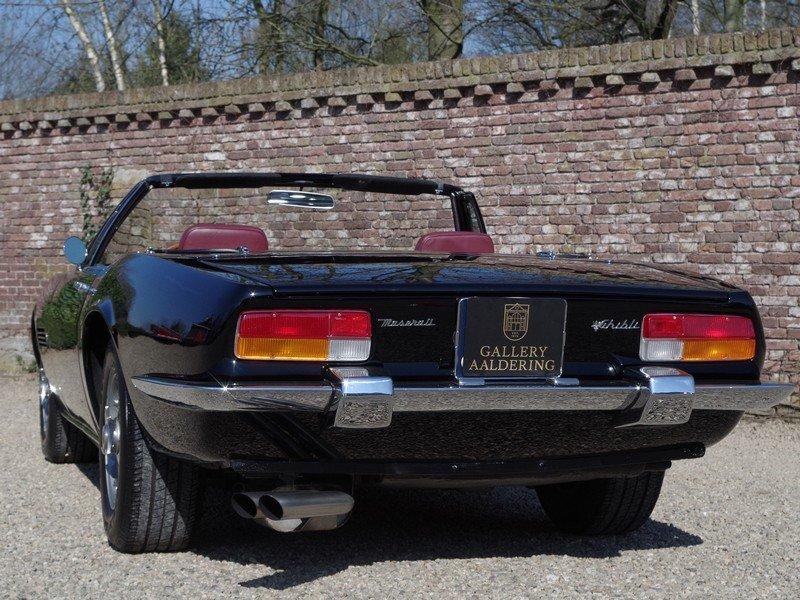 "1968 Maserati Ghibli 4.7 Spyder ""Campana"" For Sale (picture 6 of 6)"