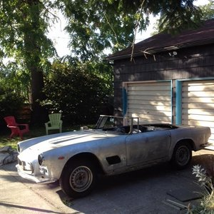1961 Maserati 3500GT for restoration