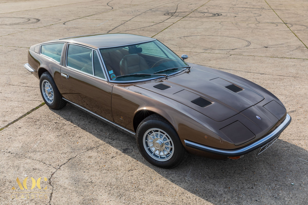 Maserati Indy 4900 - Manual - 1973 - Amazing condition For Sale (picture 1 of 6)