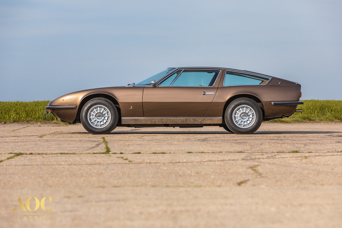 Maserati Indy 4900 - Manual - 1973 - Amazing condition For Sale (picture 3 of 6)