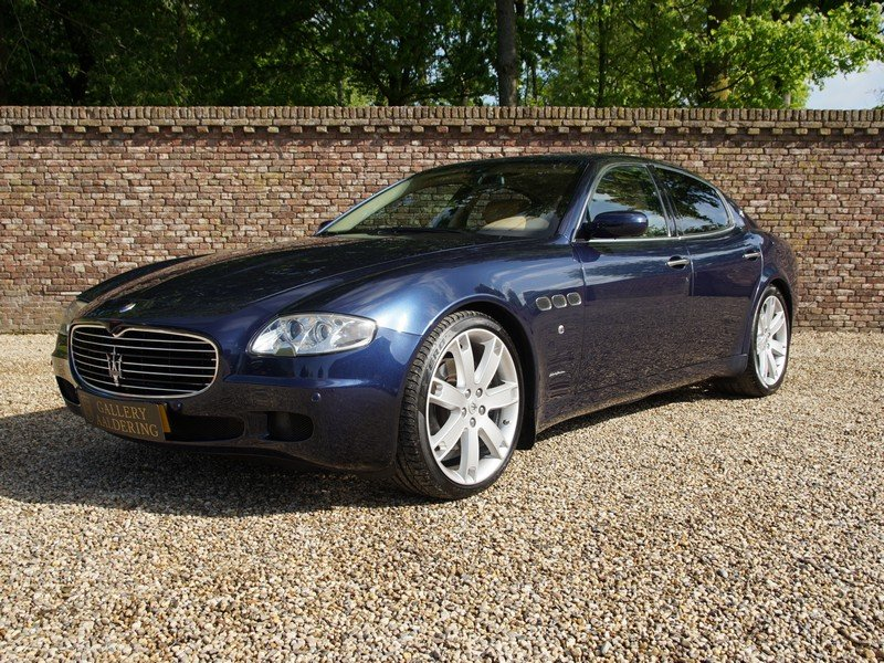 2005 Maserati Quattroporte 4.2 Duo Select all history, Dutch deli For Sale (picture 1 of 6)