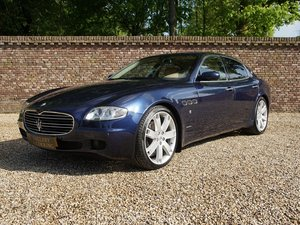 2005 Maserati Quattroporte 4.2 Duo Select all history, Dutch deli
