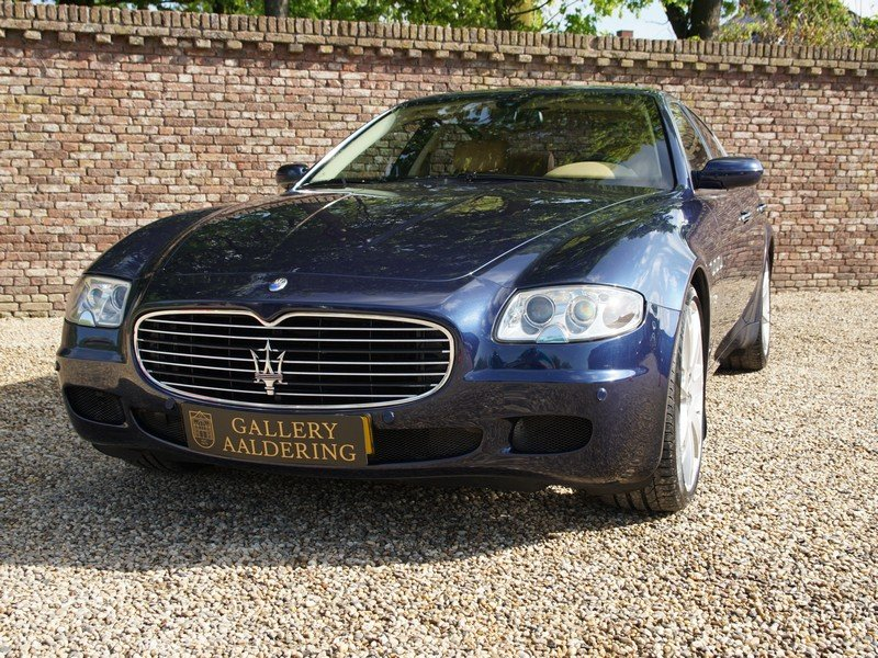 2005 Maserati Quattroporte 4.2 Duo Select all history, Dutch deli For Sale (picture 5 of 6)