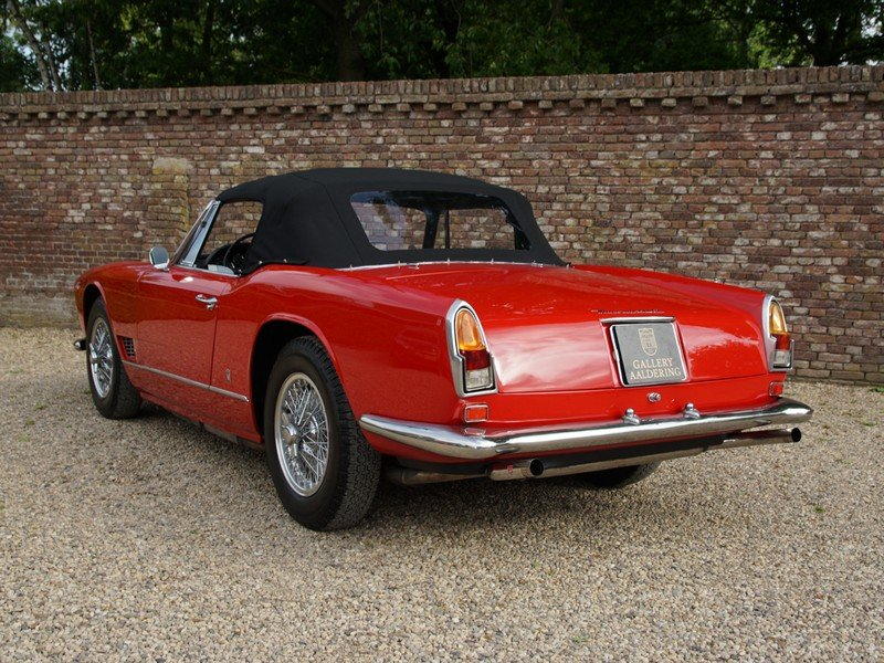 1961 Maserati 3500 GT Vignale Spyder matching numbers, only 242 m For Sale (picture 2 of 6)