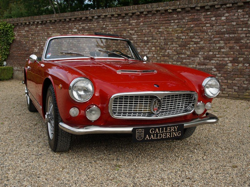 1961 Maserati 3500 GT Vignale Spyder matching numbers, only 242 m For Sale (picture 5 of 6)
