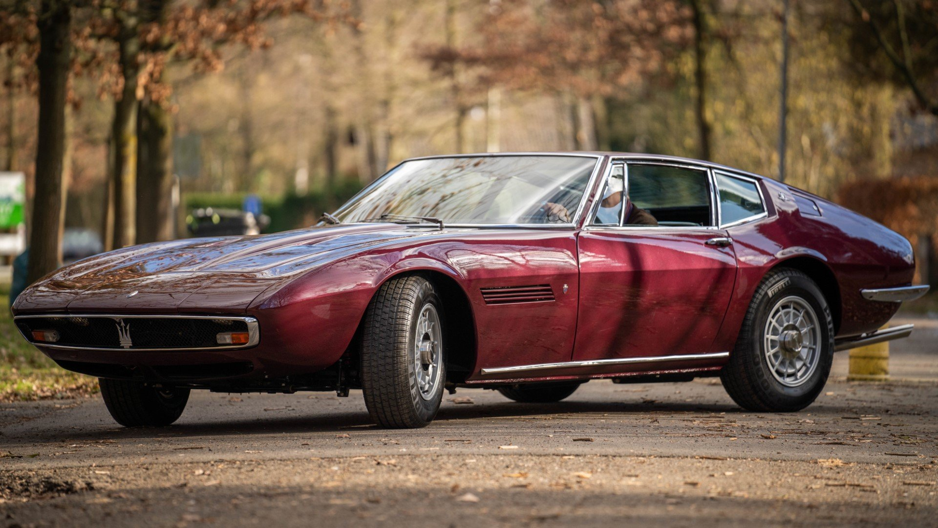 MASERATI GHIBLI Coupe superb restoration (1968) For Sale (picture 2 of 6)