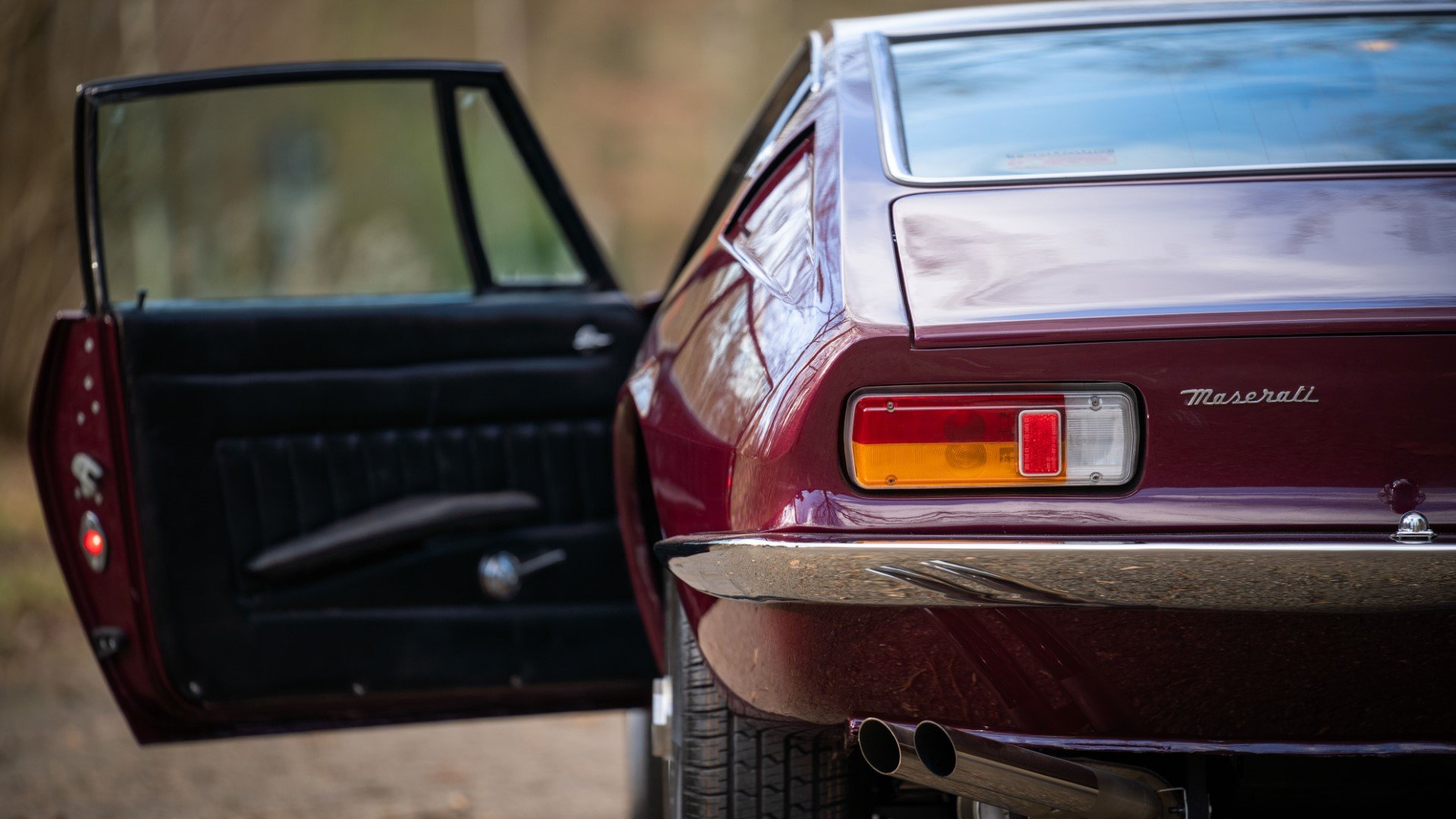 MASERATI GHIBLI Coupe superb restoration (1968) For Sale (picture 6 of 6)