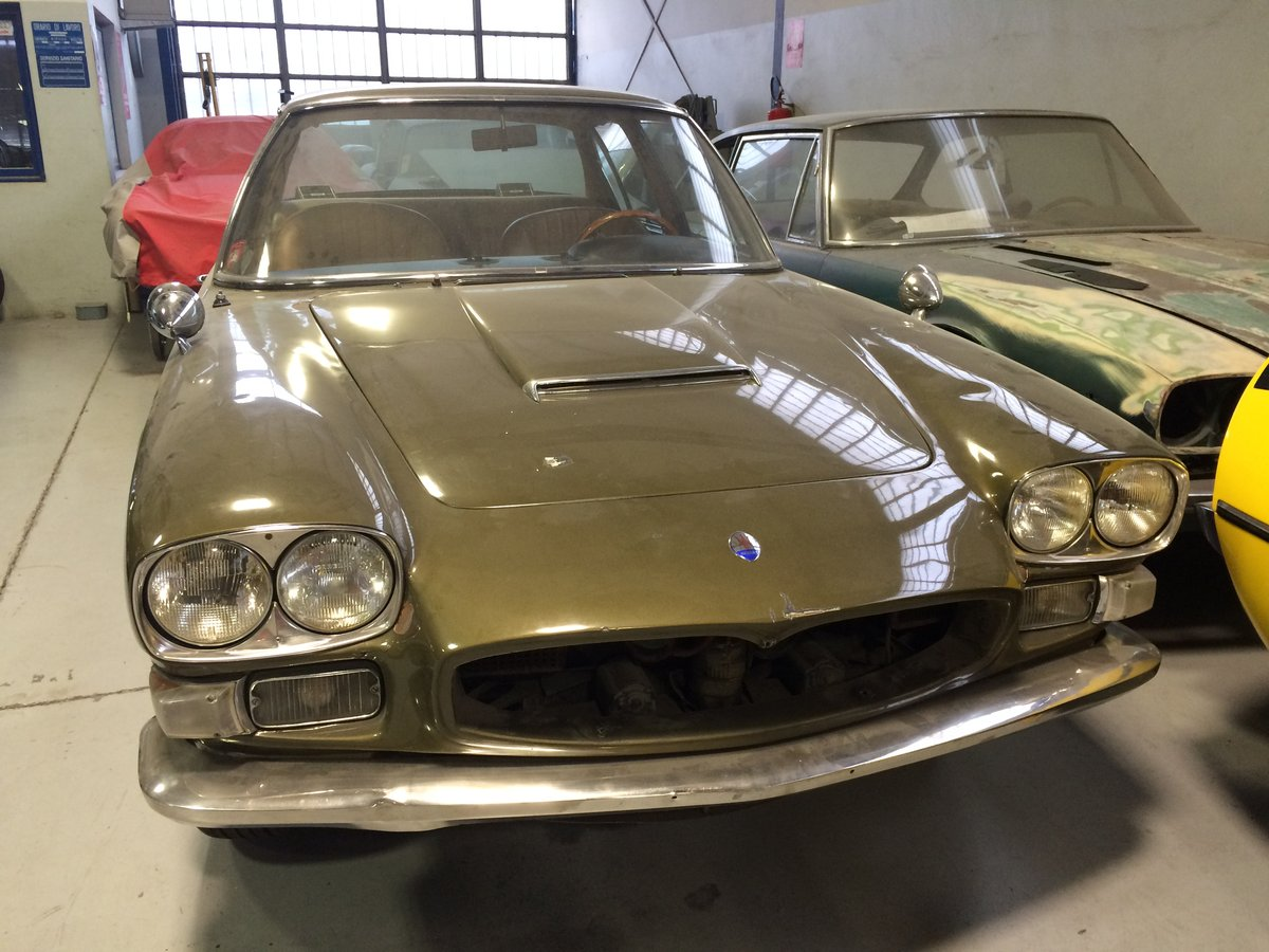 1968 Maserati Quattroporte I   AM107    project  For Sale (picture 1 of 6)