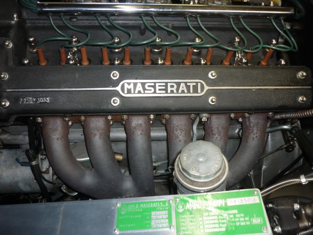 1961 Maserati 3500 Gti Fully restored & engine just rebuilt For Sale (picture 6 of 6)