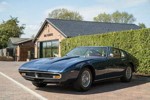 1970 Maserati Ghibli 4.7 L (Rare Factory AC & PAS) For Sale