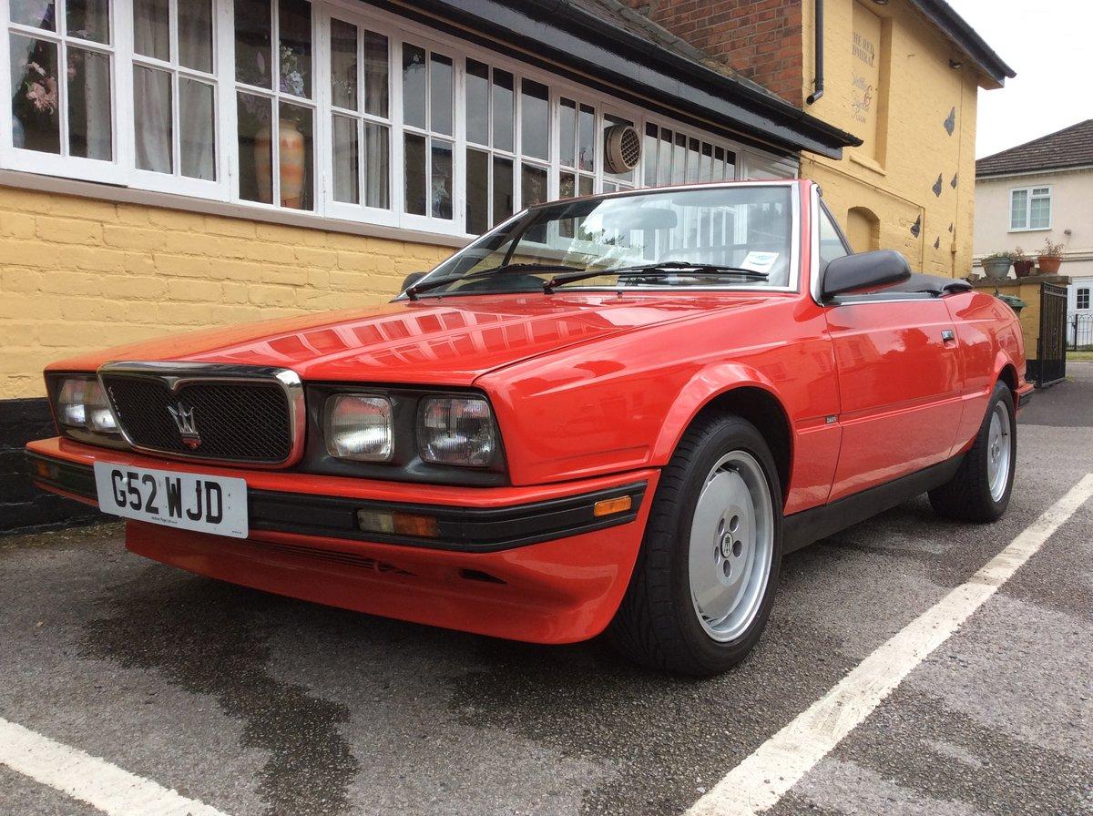 1989 Maserati biturbo convertible For Sale | Car And Classic