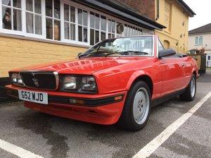 1989 Maserati biturbo convertible For Sale