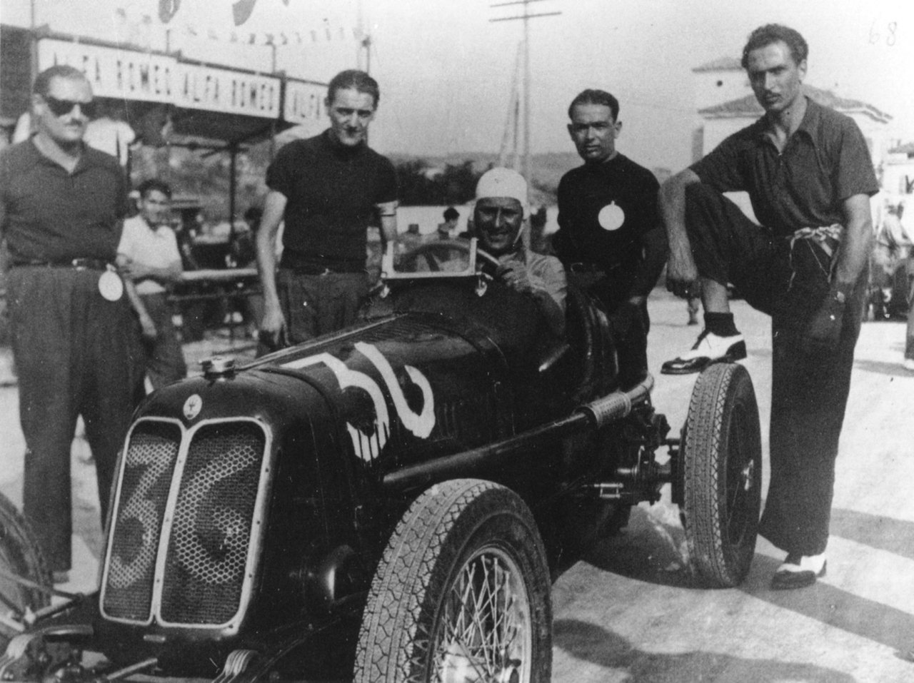 1935 MASERATI TIPO 4CM MONOPOSTO RACING VETTURETTA For Sale (picture 6 of 6)