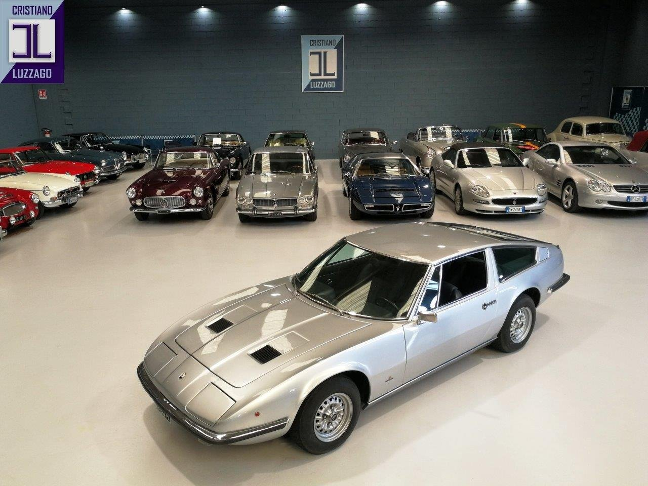1969 MASERATI INDY 4.200 SHOW CAR of 51° SALONE DELL'AUTOMOBILE D For Sale (picture 1 of 6)