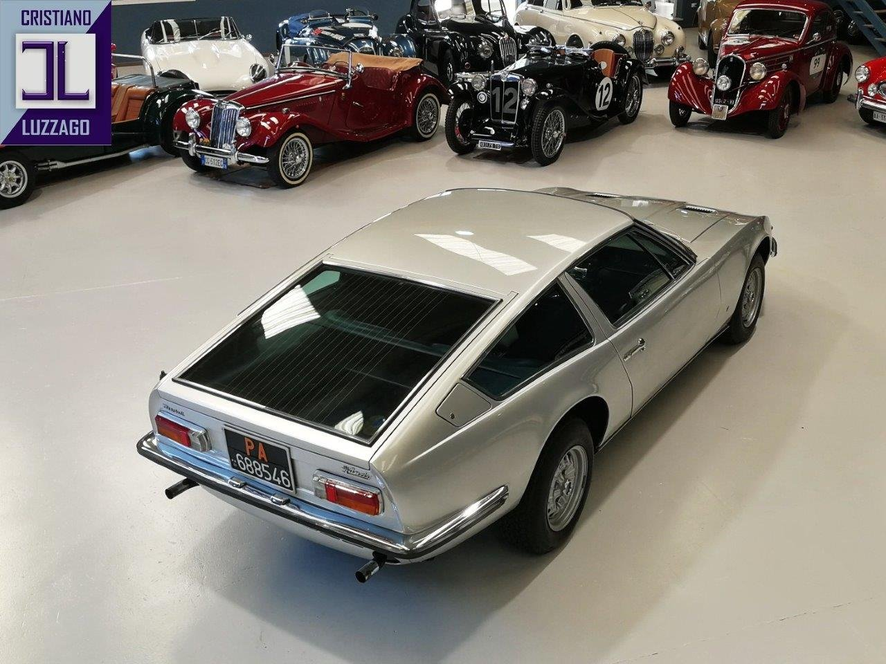 1969 MASERATI INDY 4.200 SHOW CAR of 51° SALONE DELL'AUTOMOBILE D For Sale (picture 2 of 6)