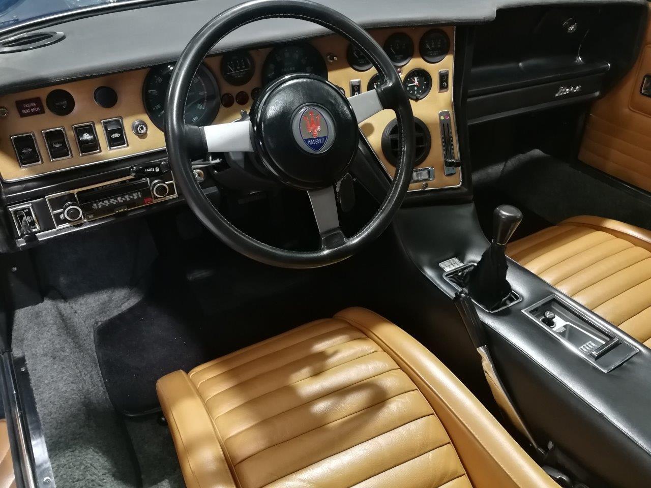 1973 MASERATI BORA 4900 SOLD (picture 5 of 6)