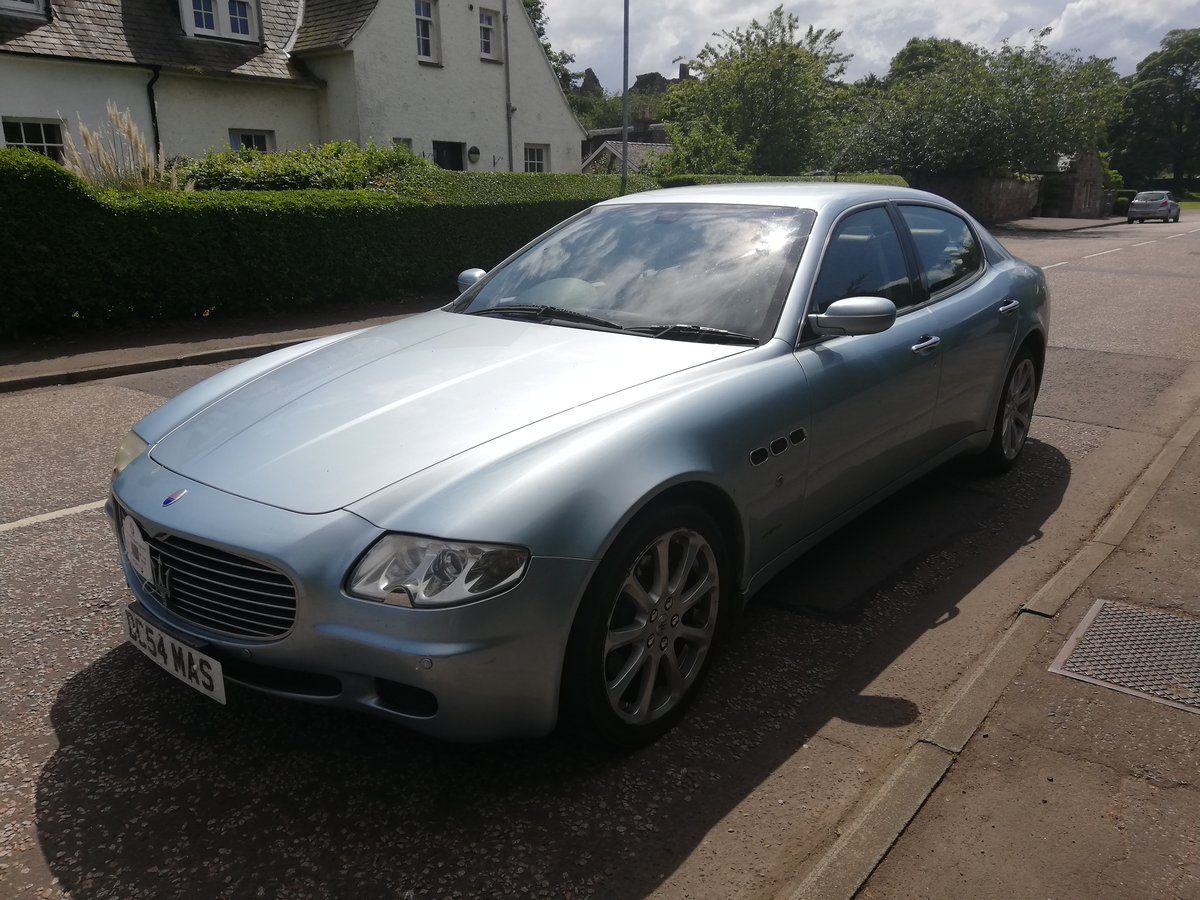 2004 Maserati Quattroporte Reluctant Sale Tesla coming! For Sale (picture 1 of 5)