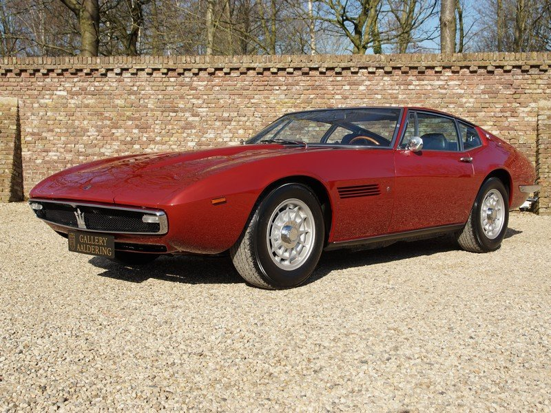 1970 Maserati Ghibli 4.9 SS matching numbers / colours, rare SS v For Sale (picture 1 of 6)