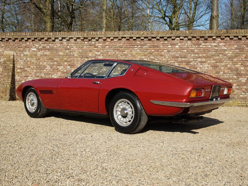 1970 Maserati Ghibli 4.9 SS matching numbers / colours, rare SS v For Sale (picture 2 of 6)
