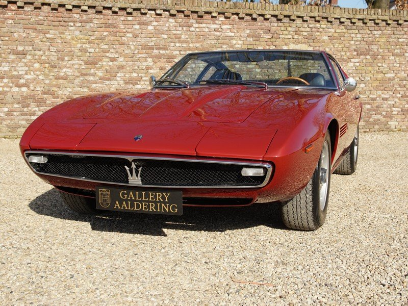 1970 Maserati Ghibli 4.9 SS matching numbers / colours, rare SS v For Sale (picture 5 of 6)