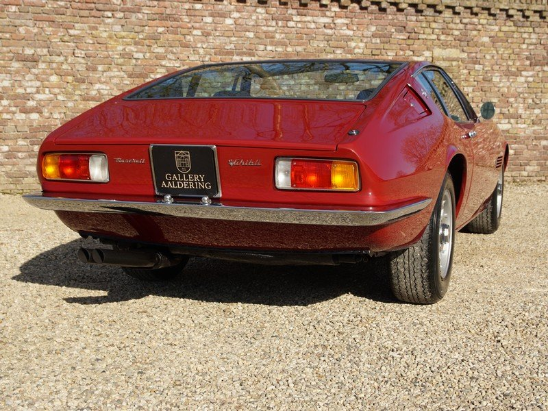 1970 Maserati Ghibli 4.9 SS matching numbers / colours, rare SS v For Sale (picture 6 of 6)