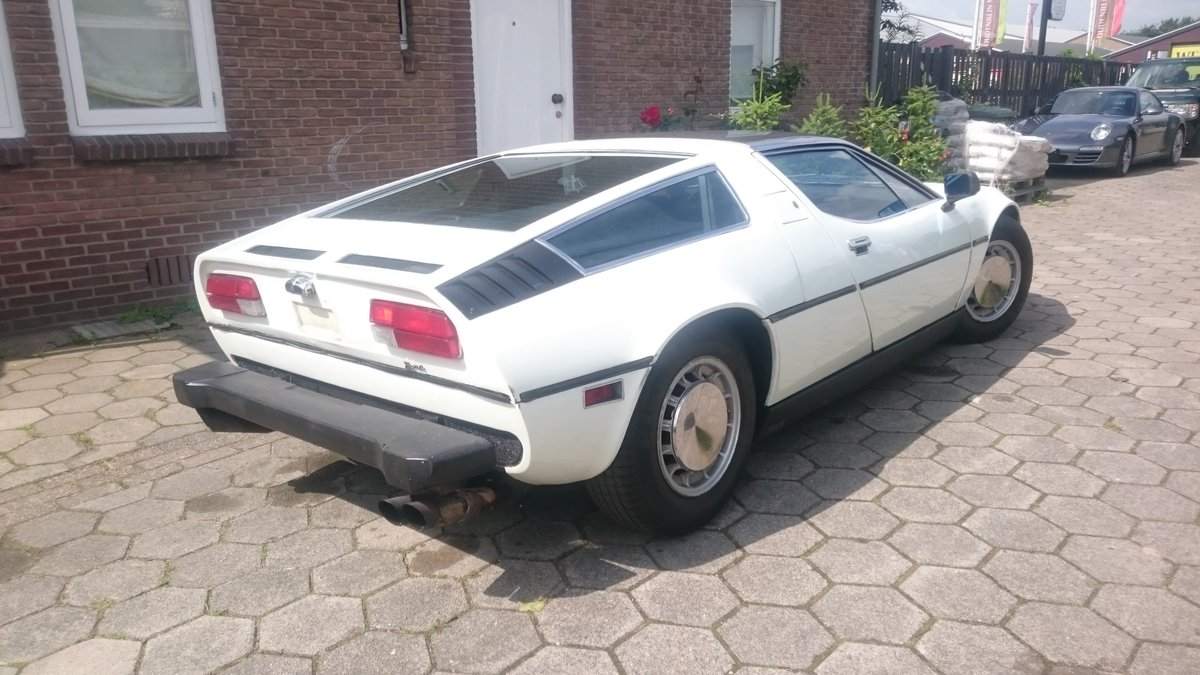 1975 Maserati Bora 4.9 easy project For Sale (picture 2 of 6)
