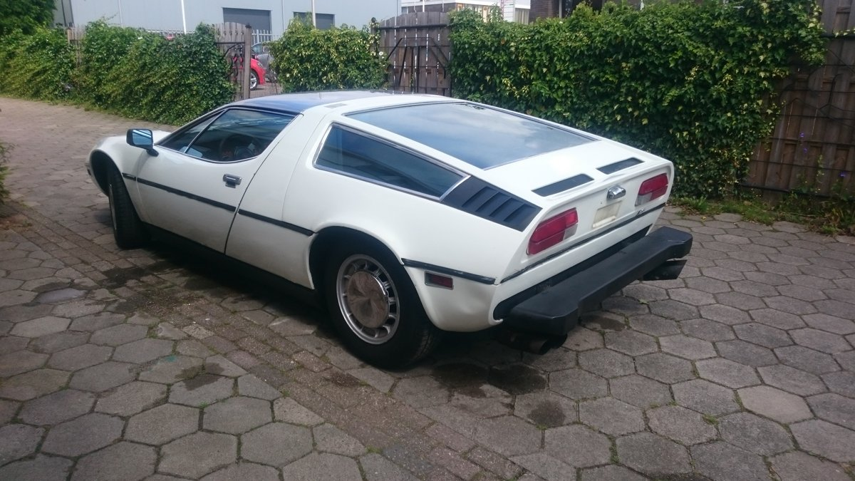 1975 Maserati Bora 4.9 easy project For Sale (picture 3 of 6)