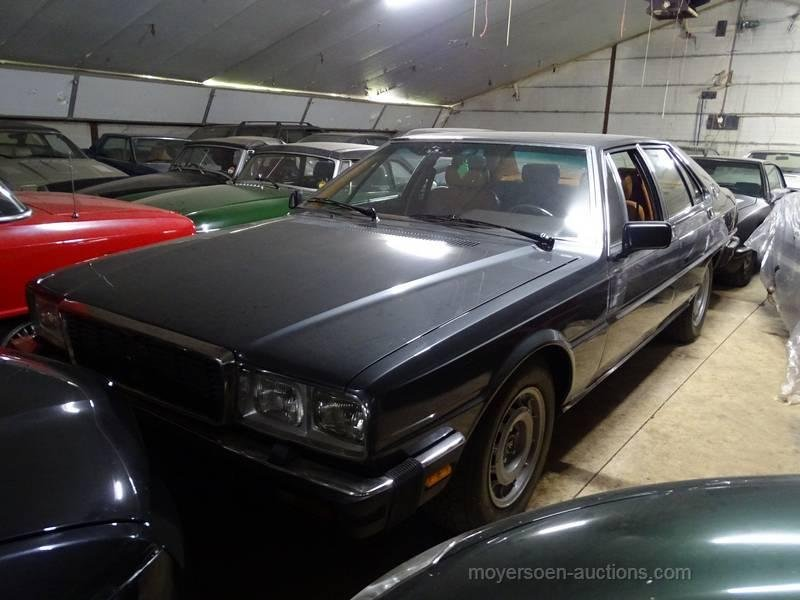 1981 MASERATI Quattroporte  For Sale by Auction (picture 2 of 6)