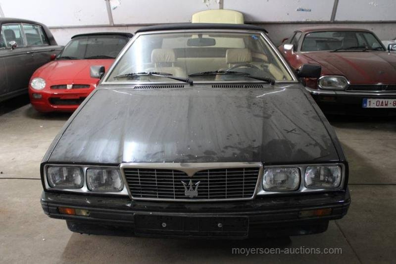 1989 MASERATI BiTurbo Zagato Spyder  For Sale by Auction (picture 1 of 6)