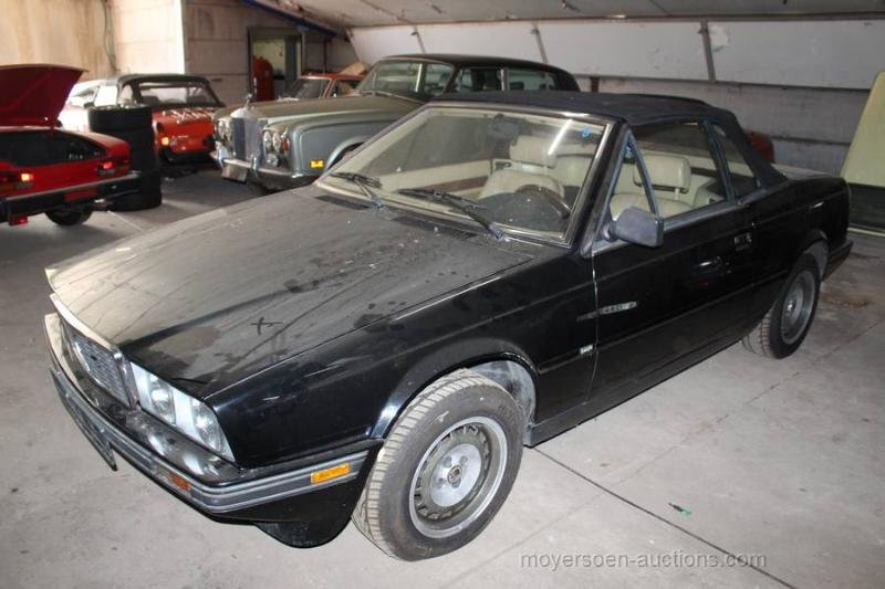 1989 MASERATI BiTurbo Zagato Spyder  For Sale by Auction (picture 2 of 6)