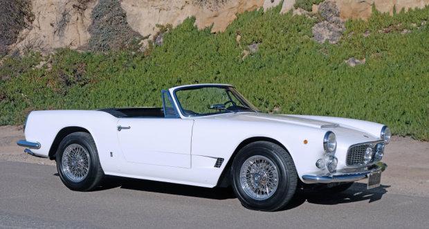 1962 Maserati 3500 GT Vignale Spyder = Rare 1 of 252  $695k For Sale (picture 1 of 3)